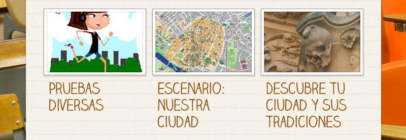Pruebas diversas Escenario: nuestra ciudad Descubre tu ciudad y sus tradiciones