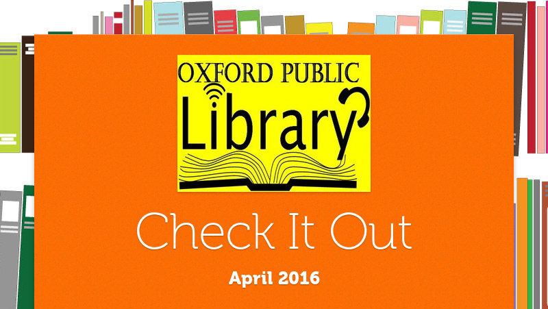 Check It Out April 2016