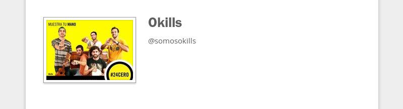 Okills  @somosokills