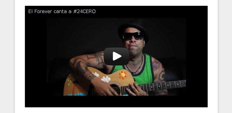 El Forever canta a #24CERO