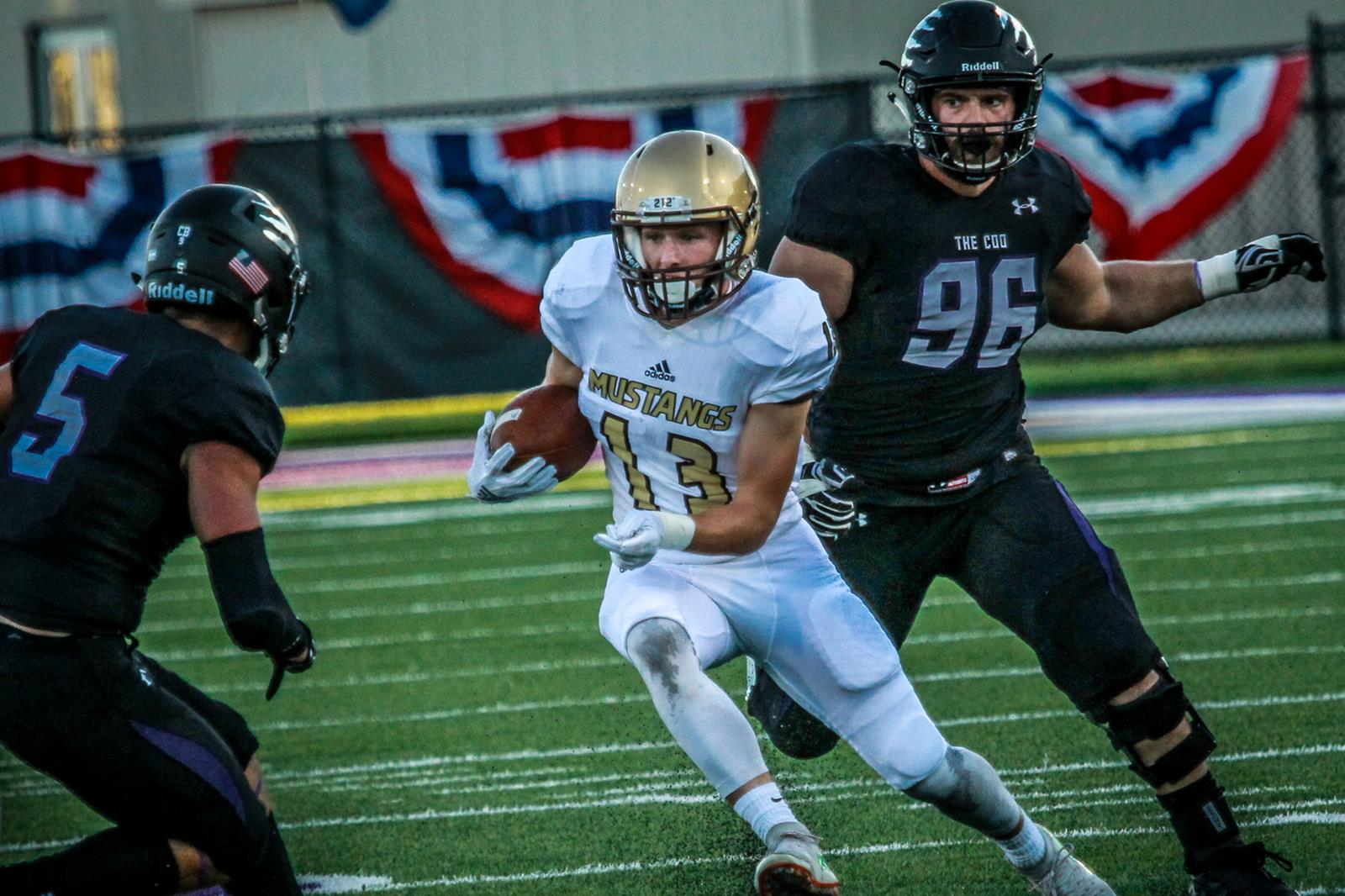 Chance Nelson Football Smsu Athletics