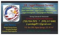 J.R. Legal Process Service & Field Inspections