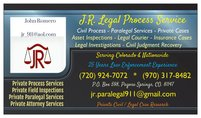 J.R. Legal Process & Judgment Recovery