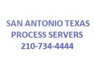 San Antonio Texas Process Servers 210.734.4444