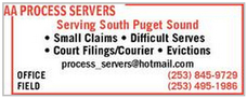 AA Process Servers