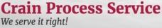 Crain Process Service