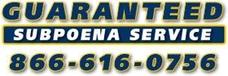 Guaranteed Subpoena Service