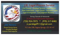J.R. Legal Process Service & Field Inspections