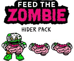 Feed the Zombie Hider Pack