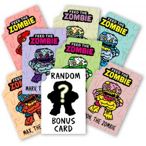 Zombie Trackable Card Full Set (7+1)
