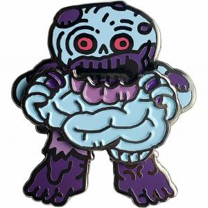 Marv, the Zombie Geocoin (Purple)