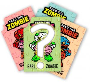 Zombie Trackable Card Random Pack (4)