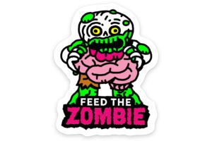Earl, the Zombie Sticker