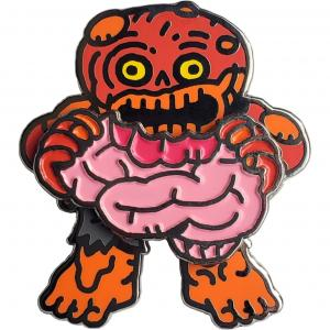 Norm, the Zombie Geocoin (Orange)