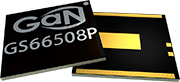 Transistors GS66508P by GaN Systems