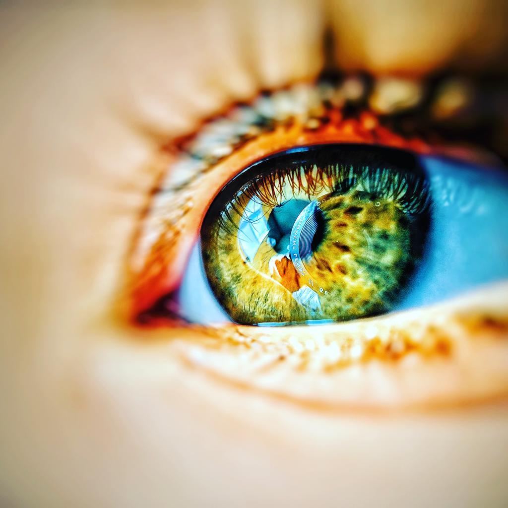 Macro shot of Eye