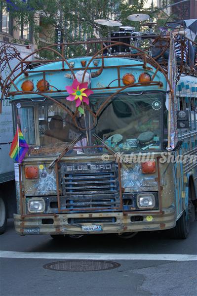 NYC Rock-band Bus