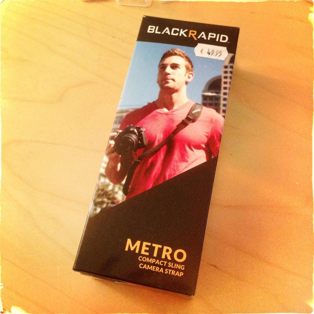 BlackRapid Metro verpakking