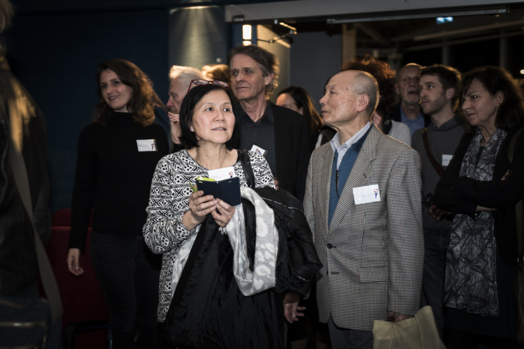 Flitsen met een reportageflitser - Het planetarium