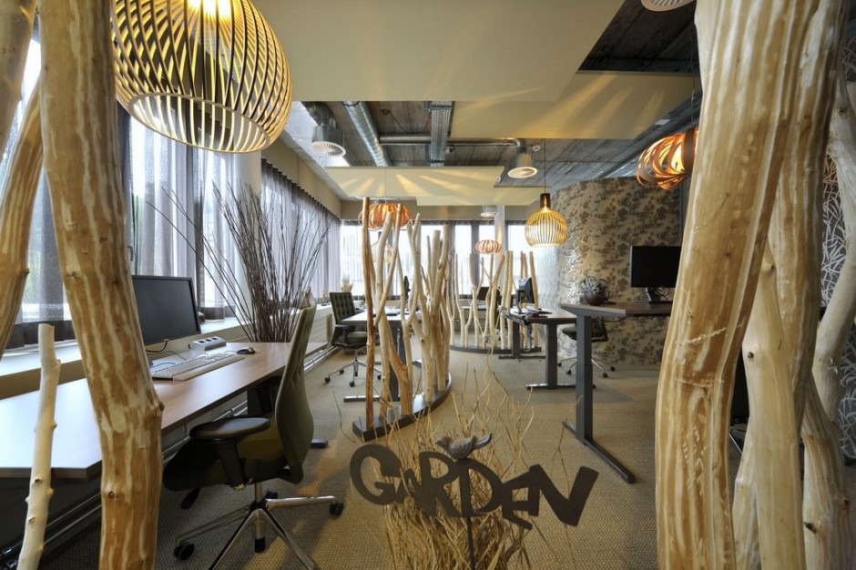The Think Tank Marketing: Unilever Headquarters unusual interior design