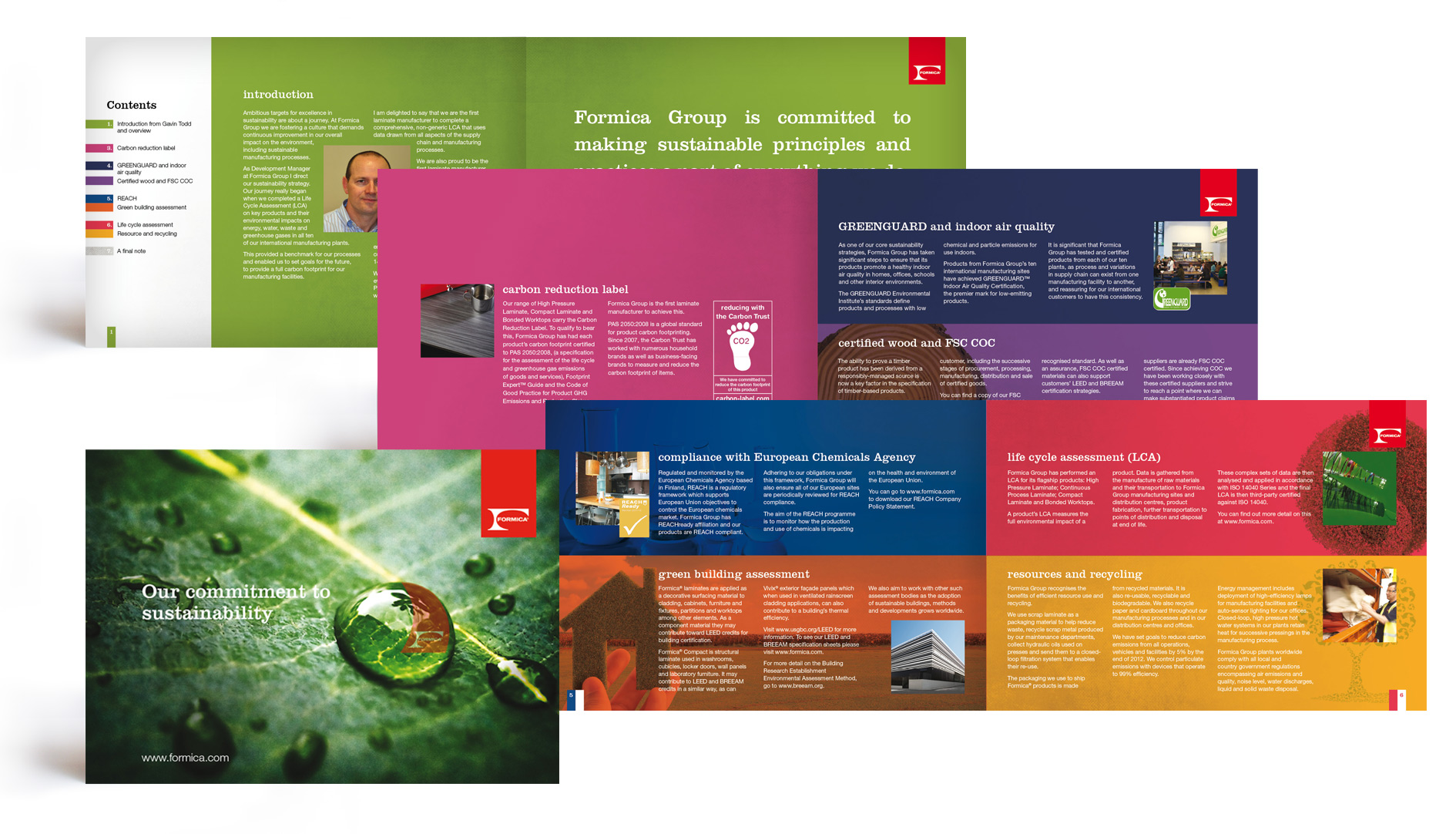 Formica Sustainability Brochure