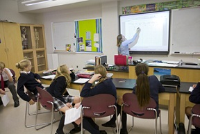 Smart Board technology in the classroom   CCS Presentation Systems
