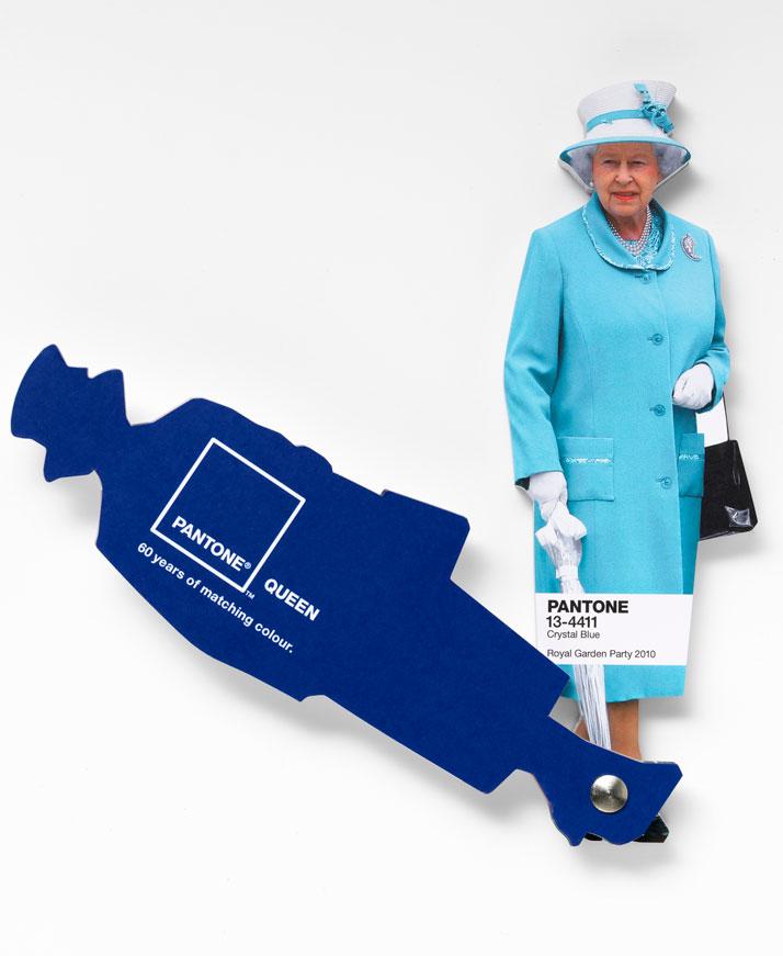 Queen's Pantone Swatch