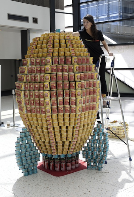 Canstruction design