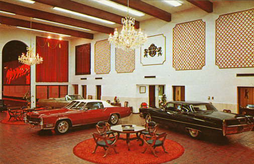 Vintage Car Dealership Design