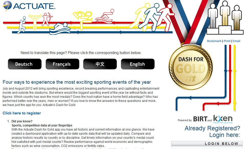 Dash for Gold