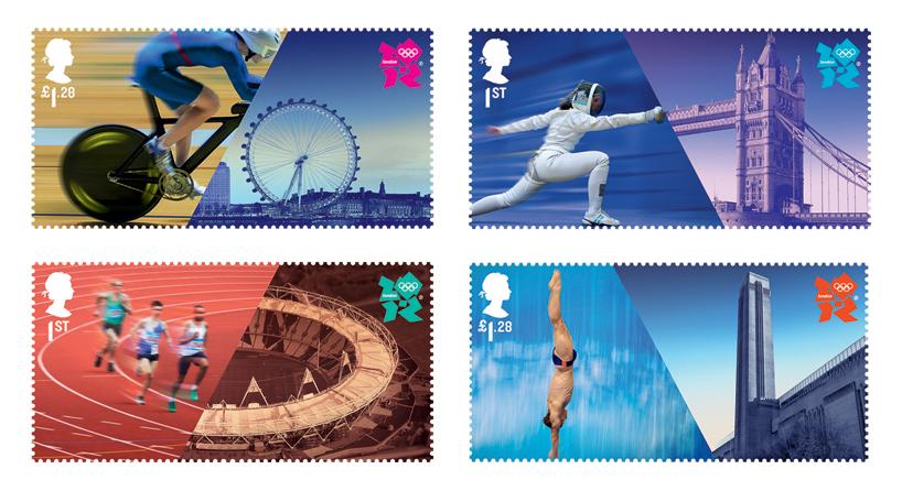 Olympics Stamp Design