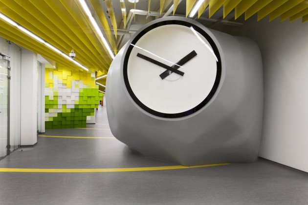 Yandex Office Interior