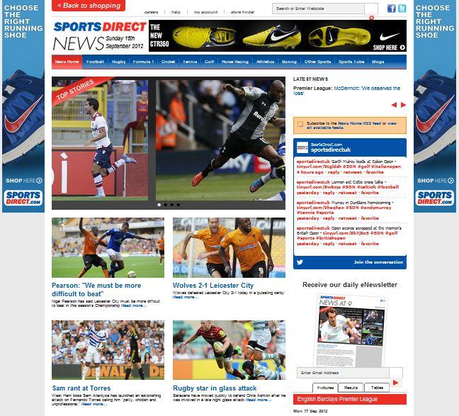 SportsDirect News