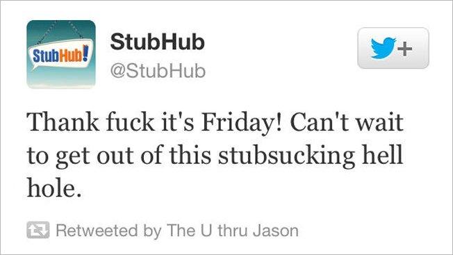 Twitter profanity