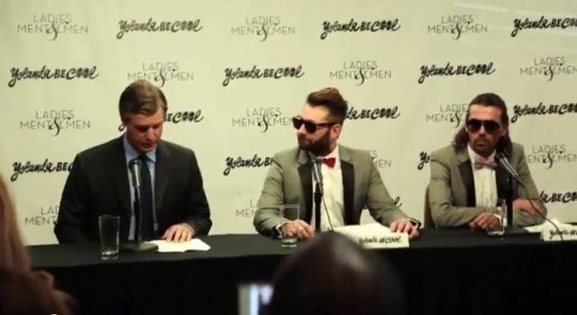 Yolander Be Cool Press Conference
