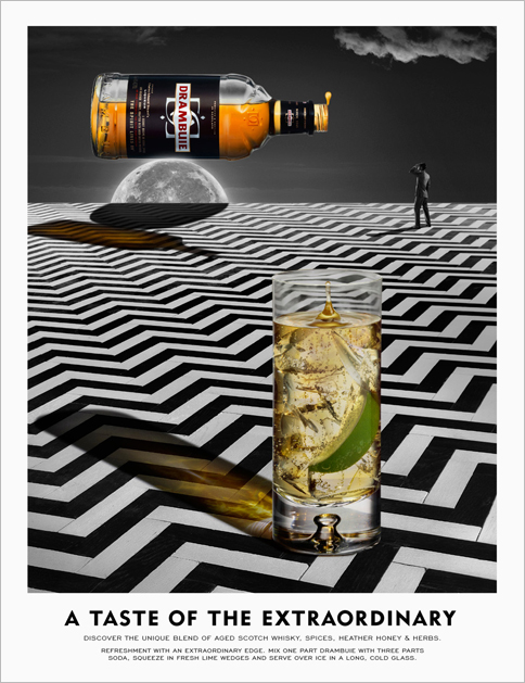 Drambuie Press Campaign