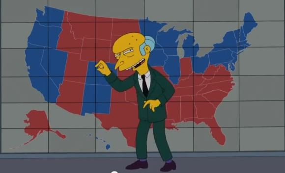 Simpsons and Mitt Romney