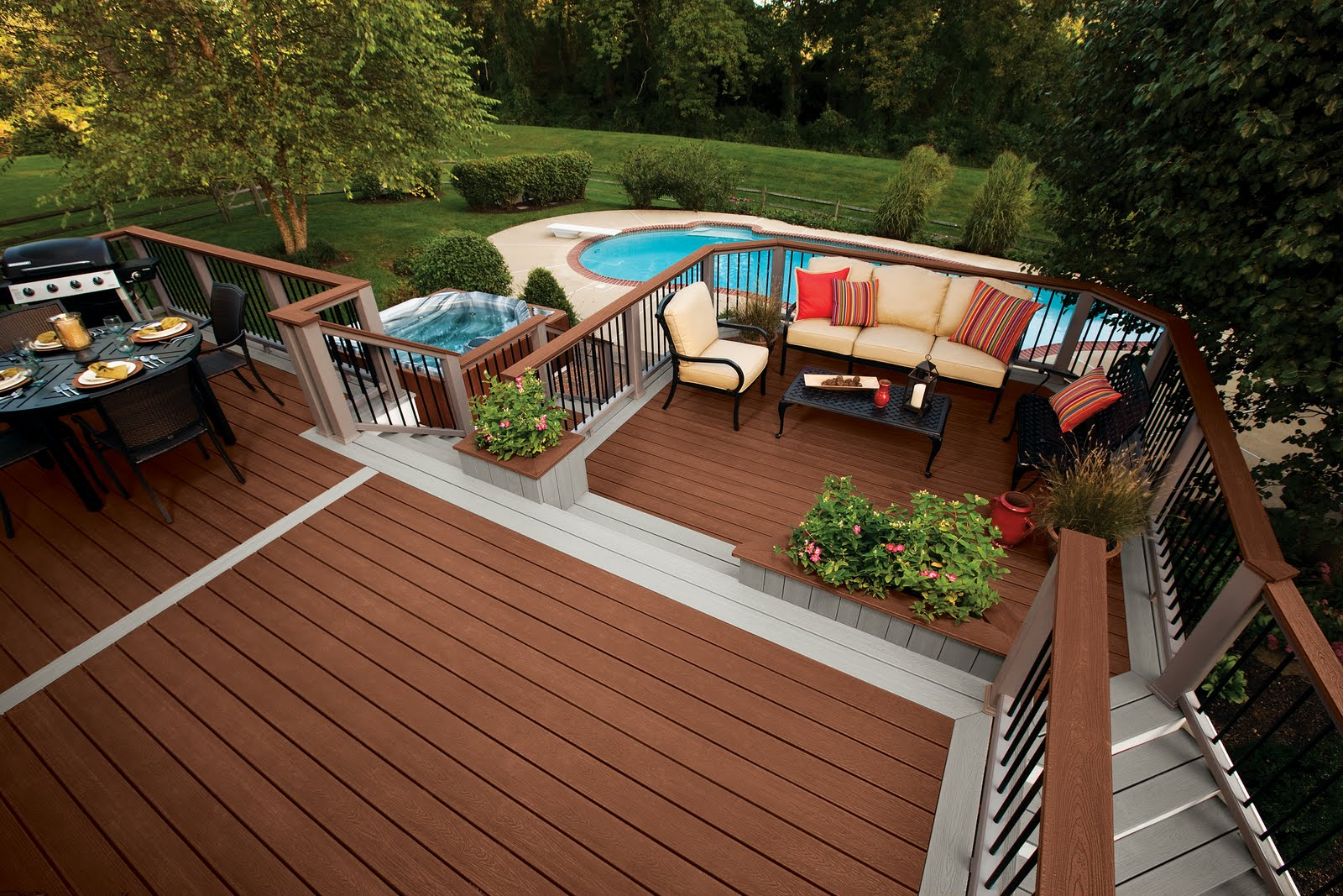 Extending your home with a deck