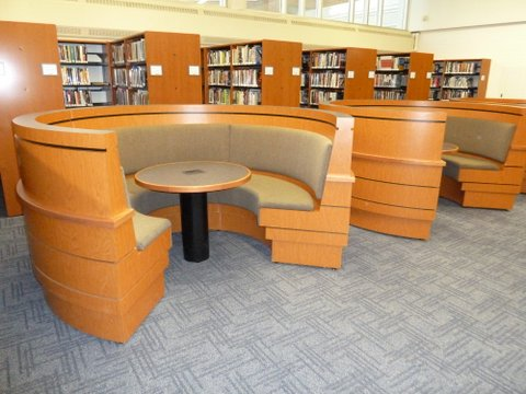 Library Furniture Can Give Your Library New Life Carroll Seating - Library furniture
