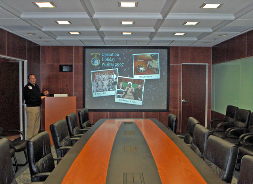 video conferencing, CCS Presentations
