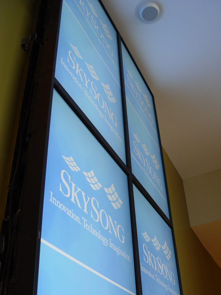 digital signs, CCS Southwest