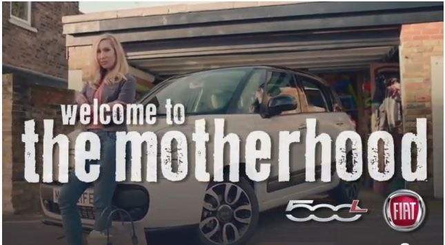 Motherhood fiat ad