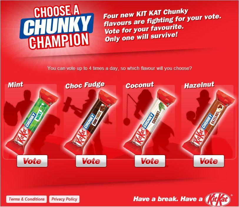 Kit Kat Vote