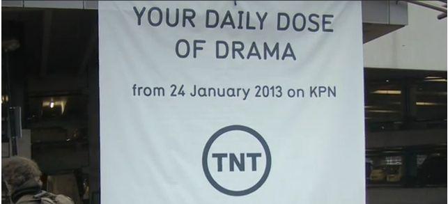 TNT add drama banner
