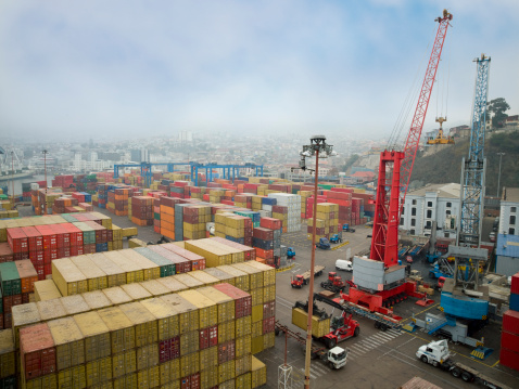 shipping yard, Calhoun Truck Lines