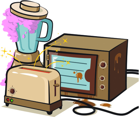appliance repair, Appliance Parts