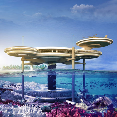 World's largest underwater hotel 1