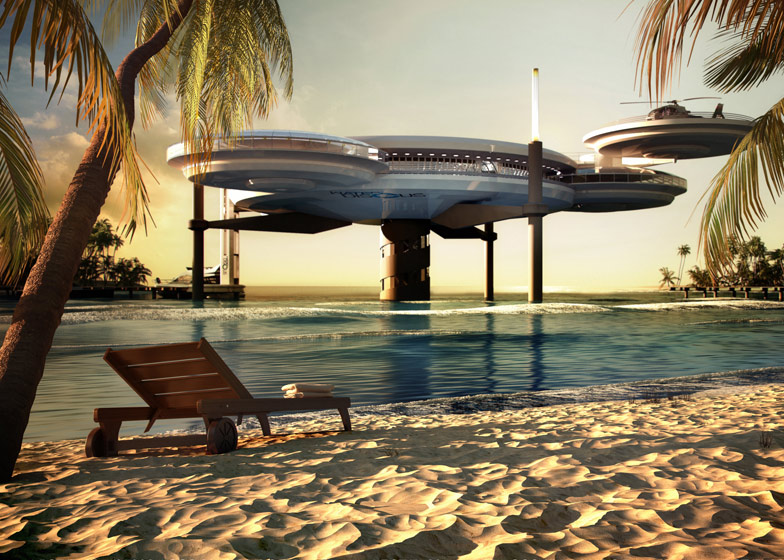 World's largest underwater hotel 2