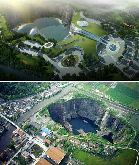 Stunning Underground Hotel Planned For Shanghai