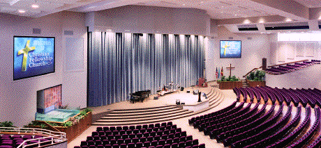 projection screens for churches